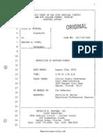 08.23.2018 - Deposition of Officer Kinney