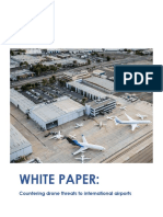 Whitepaper - Countering the Drone Threat to International Airports