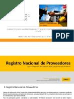 Registro nacional de provedores