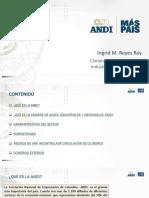 información de la ANDI para los gases medicinales