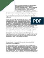 Foro Factores Biologicos, Cognitivos y Afectivos