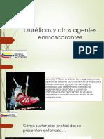 Diuréticos y Otros Agentes Enmascarantes EDWIN OLIVEROS