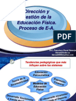 3 Gestión EF Proceso de Enseñanza Aprendizaje