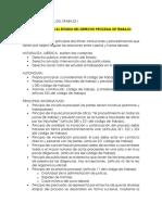 Cuestionario Derecho Procesal Del Trabajo i