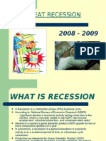 Reasons for Great Recession