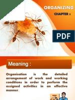 Chap 5 - Organizing