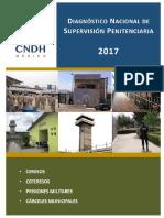 Diagnostico Nacional de Supervisión Penitenciaria 2017