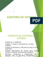 Auditorias en Sistemas