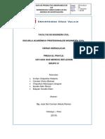 Obras Hidraulicas-Informe Ejecutivo