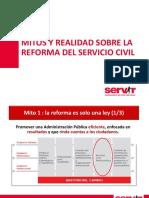 MITOS Y REALIDADES DEL SERVICIO CIVIL