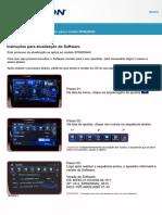 Atualização de Software SP6920NAV REV01