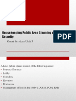 Guest Services Unit 3.1 Hk Safety & Security , Public Area