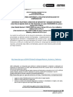 Requisitos Telefonos y Orden de Solicitud de Devolucion 2014