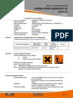 Chema Epox Adhesivo 32 Parte A y B
