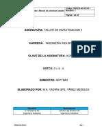 Manual Taller de Inv. 2.Ok Yady a-d19