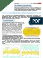 2.1. DIVERSIDAD CLIMÁTICA DE ESPAÑA. FACTORES CLIMÁTICOS.