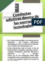 Conductas Adictivas dentro de las Nuevas Tecnologías