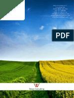 Brochure Medioambiente Waza Consulting S.A.C.