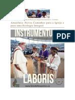 INSTRUMENTUS LABORIS - SÍNODO DO AMAZONAS