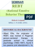 REBT (Rational Emotive Behavior Therapy)
