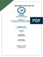 UNIDAD VI y VII Psicopatologia II