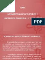 Movimientos Antiautoritarios y Libertarios