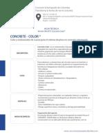 Ficha Tecnica Concrete Color Enviar