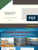 TRANSPORTE DE SEDIMENTOS