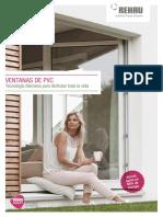 Catálogo Ventanas de PVC Rehau