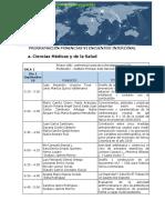 Programación Ponencias Aprobadas  2019 VI encuentro interzonal UNAD