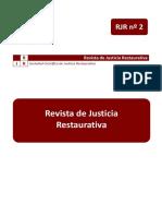 Artículo Justicia Restaurativa Isabel González