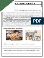 Atividade O trabalho do arqueólogo  3 ANO.doc