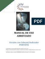 Manual USO Abreviado PESAGRAN Portatil 1.5.5