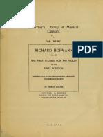 Hoffmann Metodo de violin