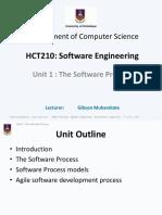 HCT210 Lecture Notes - Unit 1
