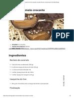 Receita de Ovo de Caramelo Crocante _ Doces e Sobremesas _ Ana Maria Braga