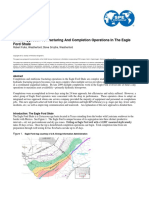 A New Approach to Fracturing and Completion Operations in the Eagle Ford Shale