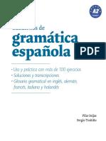 Cuadernos Gramatica Espanola a2 Muestra