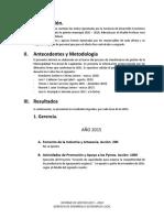 Informe de Gestion 2015 - 2016