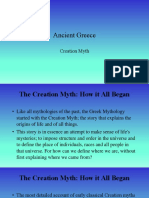 Myth of Creation