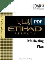 Etihad Airways - Marketing Plan