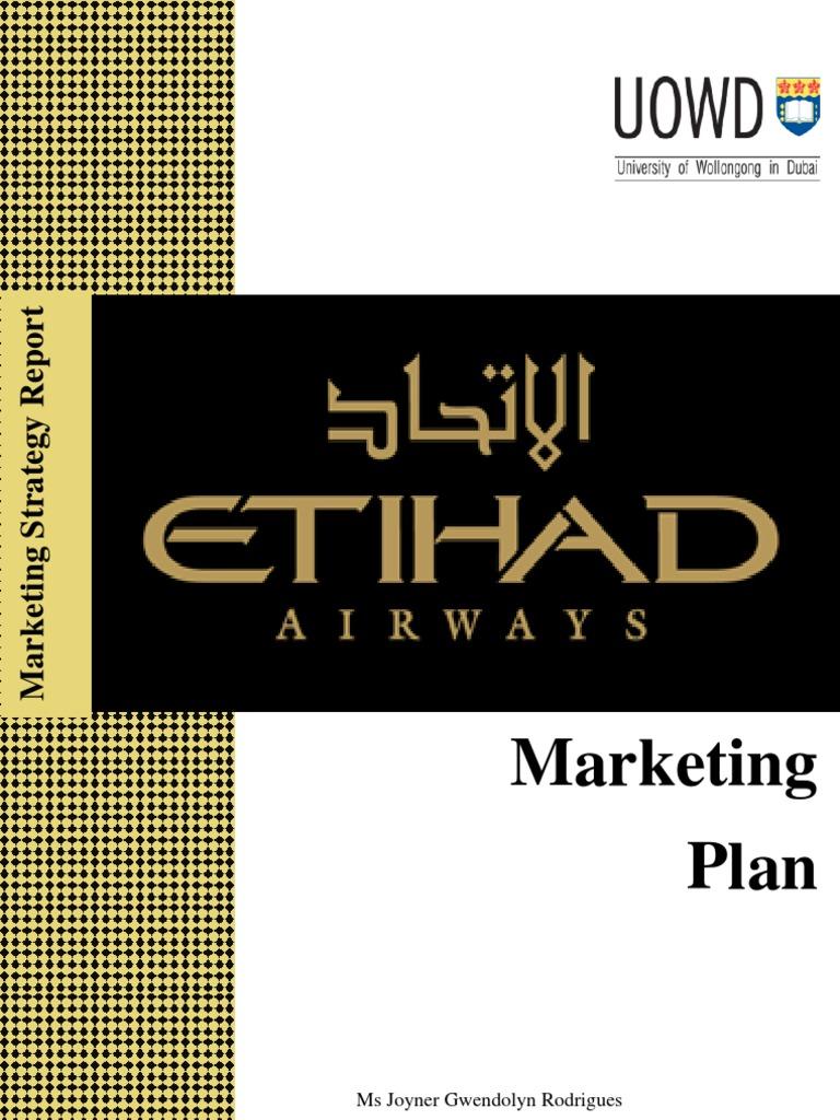Etihad Airways - Marketing Plan | Airline Hub | Airlines
