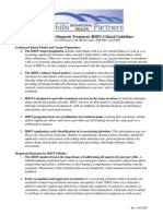 IDDT Clinical Guidelines