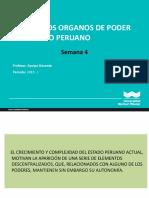 Semana 4 Los Nuevos Organos de Poder Del Estado Peruano 1