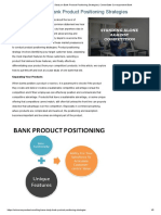 A Case Study on Bank Product Positioning Strategies _ CenterState Correspondent Bank
