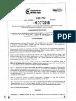Resolucion 3752 - 2015 Seguridad Pasiva y Activa