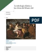 Descubre La Mitología Clásica a Través de Las Obras Del Museo Del Prado