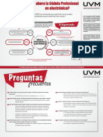 Nuevo Proceso de Cédula Profesional Infografía