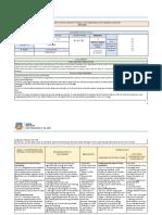 Planificación Curricular de Unidad 2019-2020