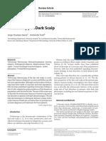 Trichoscopy of Dark Scalp